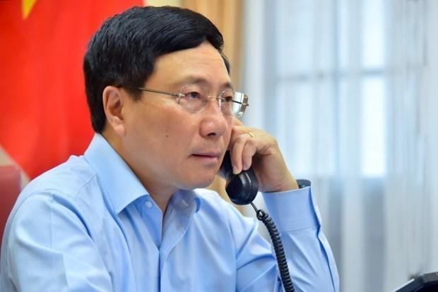 Вьетнам и Куба обязались развивать двухсторонние отношения hinh anh 1