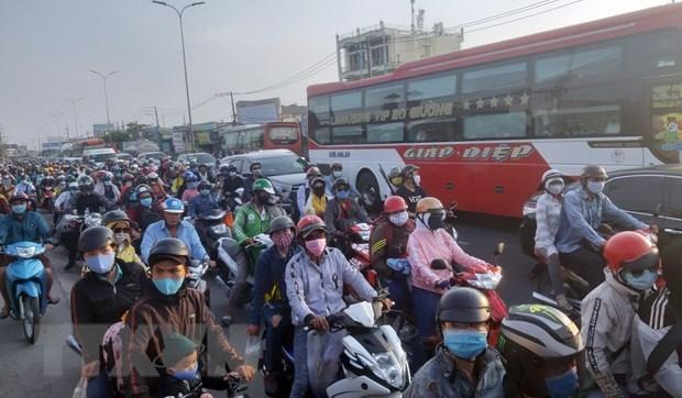 Хошимин: пилотная программа по контролю вредных выбросов мотоциклов hinh anh 1