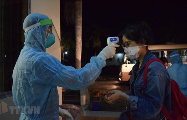 В течение 34 днеи во Вьетнаме не было зарегистрировано ни одного случая COVID-19. hinh anh 1