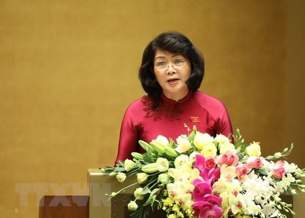 Национальное собрание рассматривает вопрос о присоединении Вьетнама к Конвенции МОТ против принудительного труда hinh anh 1