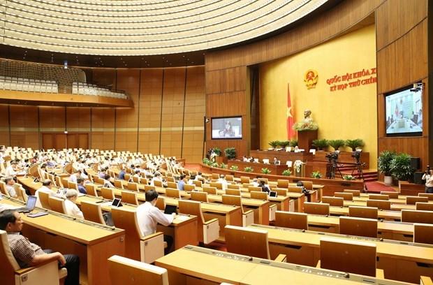 На НС 22 мая будут рассмотрены программы, определяющие закон и порядок принятия постановлении hinh anh 1