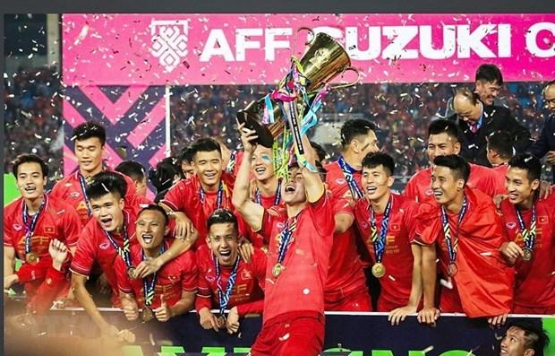Вьетнамская компания стала официальным спонсором Кубка AFF 2020 hinh anh 1