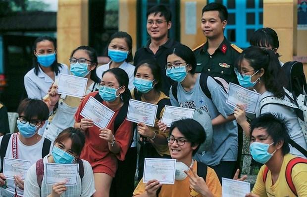 Японскии телеканал NHK высоко оценил борьбу Вьетнама с COVID-19 hinh anh 1
