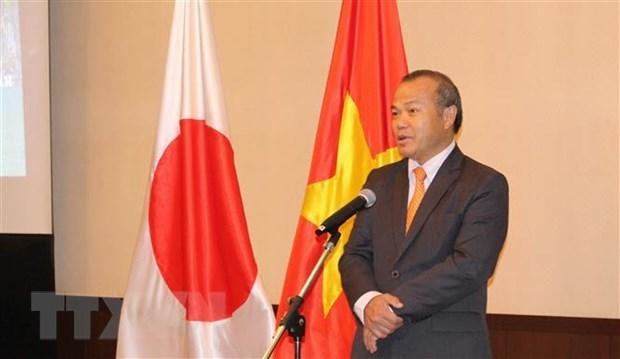 Посол: Вьетнам и Япония тесно сотрудничают в борьбе с COVID-19 hinh anh 1