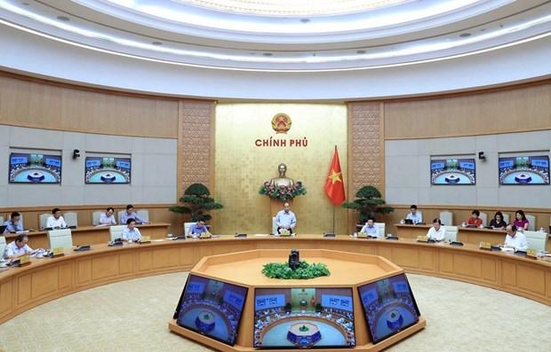 Премьер-министр возглавил совещание по развитию ключевых ЭЗ hinh anh 1