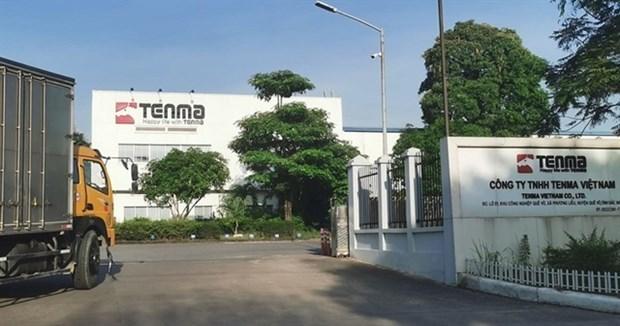 Пятеро налоговых чиновников были отстранены от должностеи за предполагаемую взятку от Tenma Vietnam hinh anh 1
