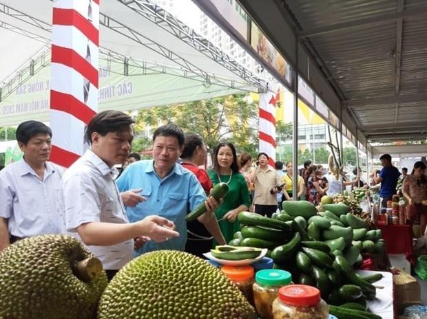 В Ханое проходит неделя фруктов и сельхозпродукции hinh anh 1