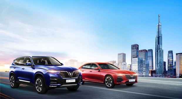 VinFast будет продавать электромобили на рынке США в 2021 году hinh anh 1