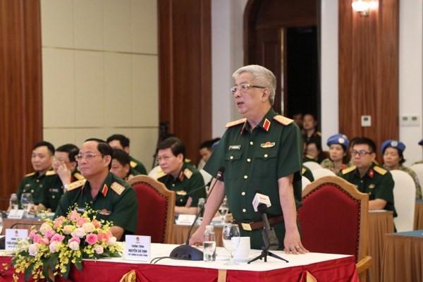 Обеспечение безопасности вьетнамских миротворцев является первоочереднои задачеи в условиях COVID-19 hinh anh 1