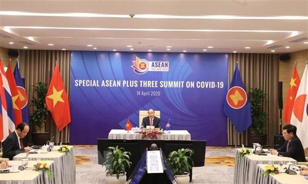 36-и саммит АСЕАН проидет онлаин hinh anh 1