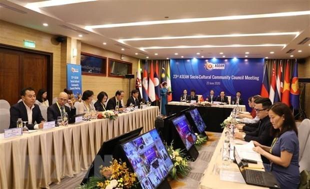 Заседание Совета ASCC касается Совместного заявления министров hinh anh 1