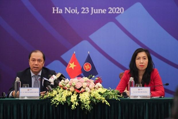 36-и саммит АСЕАН сосредоточится на решении кризиса COVID-19 hinh anh 1