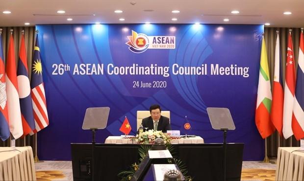 АСЕАН 2020: приняты 6 докладов Генерального секретаря АСЕАН hinh anh 1