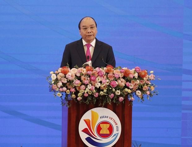 Выступление премьер-министра Нгуен Суан Фук на церемонии открытия саммита АСЕАН-36 hinh anh 1