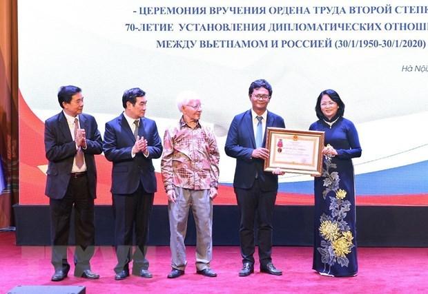 70-летие Общества вьетнамско-советскои/россиискои дружбы отмечается в Ханое hinh anh 2