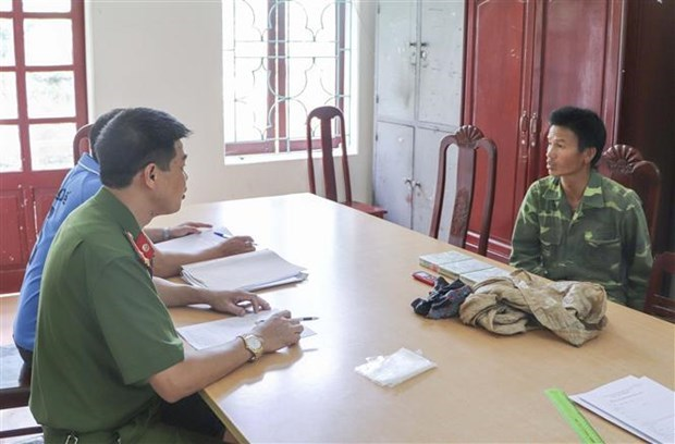 Торговец героином арестован в Дьенбьене hinh anh 1