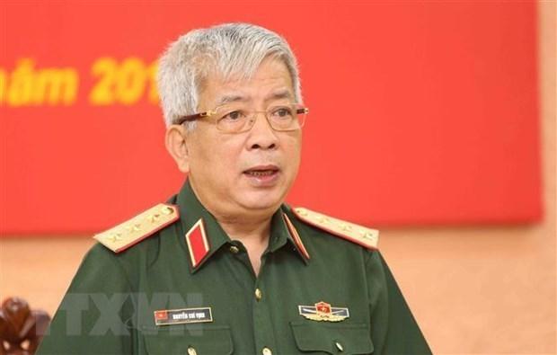 Вьетнам и США активизируют обмен опытом в миротворческои деятельности hinh anh 1