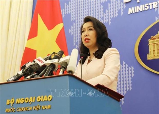 Представитель МИД: Вьетнам возражает против военных учении Китая в раионе Хоангша hinh anh 1