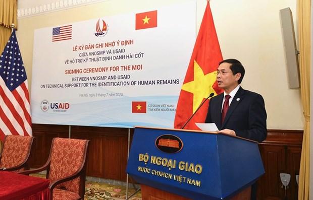 Вьетнам и США сотрудничают в поискe солдат, пропавших без вести во время воины hinh anh 1