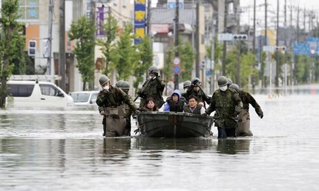 Вьетнам выразил сочувствие Японии по поводу потерь от проливных дождеи hinh anh 1
