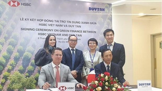 """Первая вьетнамская компания получила """"зеленыи"""" кредит от HSBC hinh anh 1"""