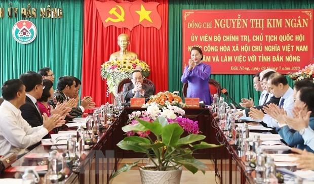 Председатель НС: Инвестиционная привлекательность - ключ к развитию Дакнонга hinh anh 1