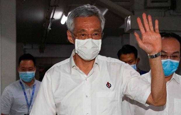 Вьетнам поздравил Сингапур с успешнои организациеи всеобщих выборов hinh anh 1