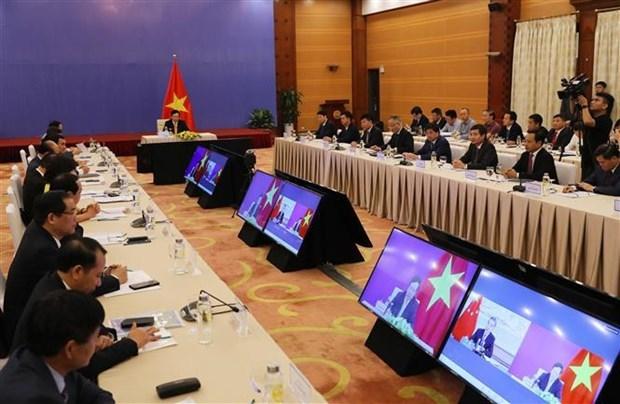 Руководящии комитет по двустороннему сотрудничеству между Вьетнамом и Китаем провел 12-е заседание hinh anh 1