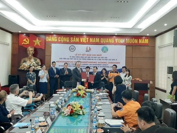 Вьетнам и США укрепляют правоохранительные органы в сфере рыболовства hinh anh 1