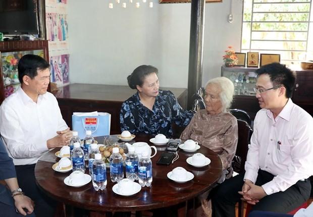 Председатель НС посетила с рабочим визитом Бариа-Вунгтау hinh anh 1