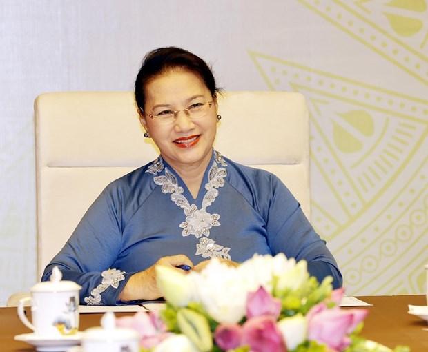 Ведущие законодатели Вьетнама и Новои Зеландии проводят онлаин-переговоры hinh anh 2