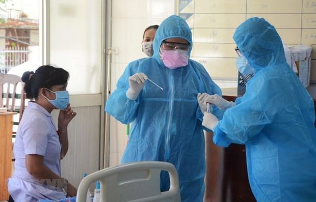 Эксперты анализируют данные о COVID-19 в Дананге hinh anh 1
