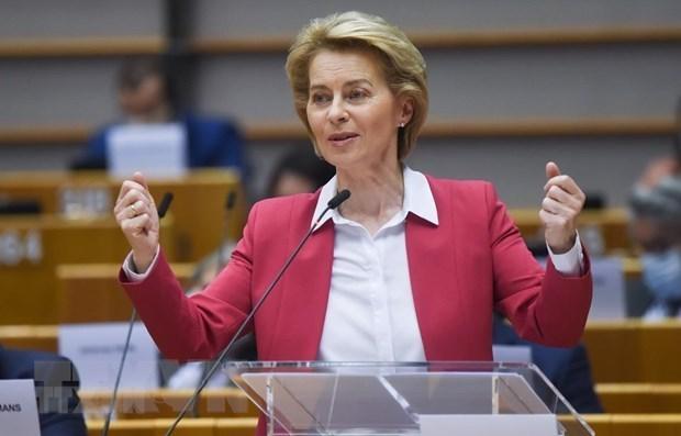 Еврокомиссия выпускает пресс-релиз о EVFTA hinh anh 1