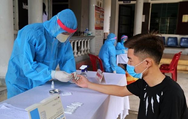 3 августа вечером во Вьетнаме зарегистрировано 21 новыи случаи заражения COVID-19 hinh anh 1