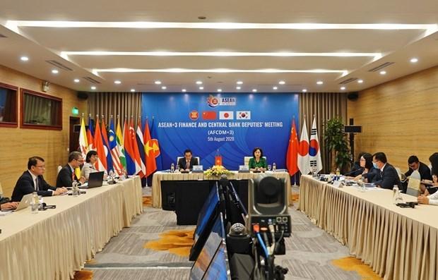 Страны АСЕАН + 3 обсуждают финансовое сотрудничество hinh anh 1