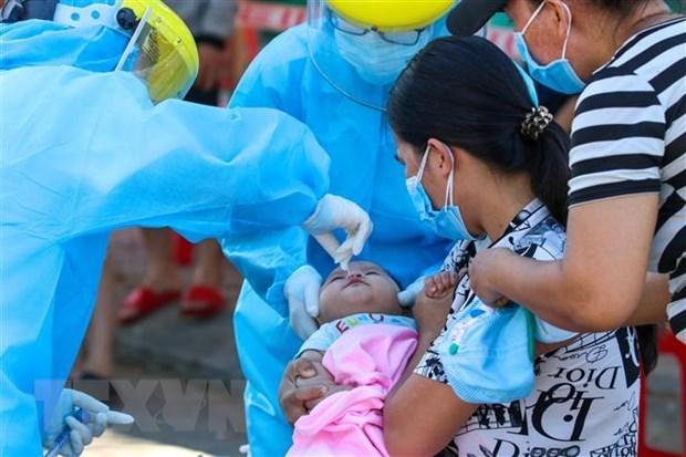 На утро 10 августа Вьетнам не зафиксировал новых случаев COVID-19 hinh anh 1