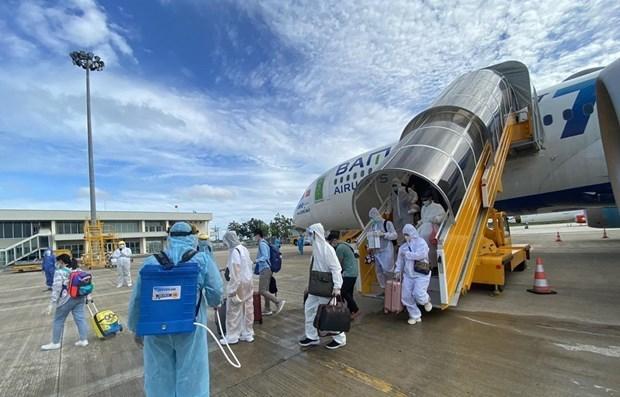 Более 260 вьетнамских граждан репатриировались из ОАЭ hinh anh 1
