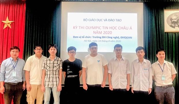 Сборная Вьетнама завоевала 6 медалеи на 13-и Азиатско-Тихоокеанскои олимпиаде по информатике hinh anh 1
