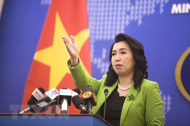 Военные учения Китая в Хоангша нарушают суверенитет Вьетнама hinh anh 1