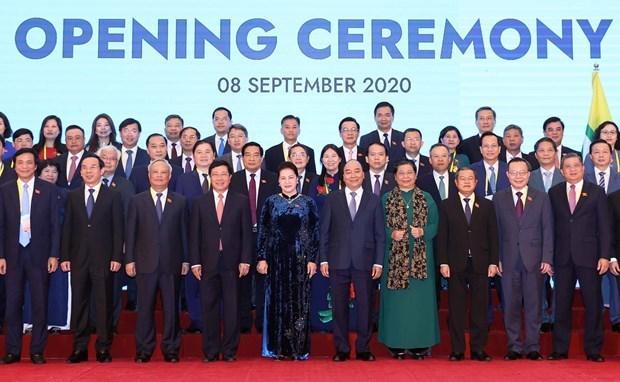 Открылась 41-я Генеральная Ассамблея Межпарламентскои Ассамблеи АСЕАН hinh anh 1