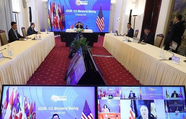 США предоставили программы сотрудничества со странами АСЕАН hinh anh 1