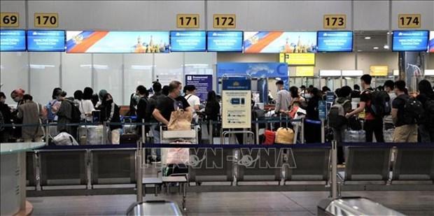 Более 340 граждан доставлены из России hinh anh 1