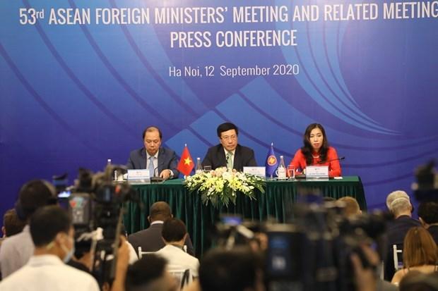 Вице-премьер: в рамках АММ 53 принято рекордное количество документов hinh anh 1