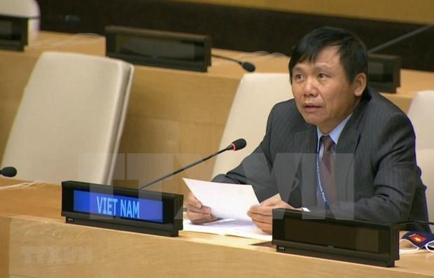 Вьетнам высоко ценит обнадеживающие изменения в ситуации в Южном Судане hinh anh 1