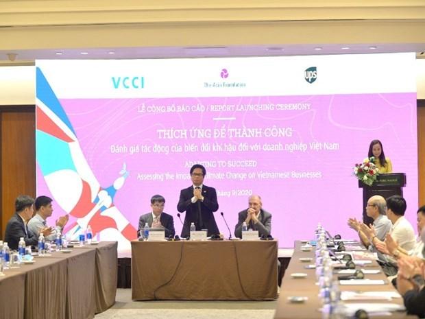 Изменение климата вынуждает вьетнамские фирмы к реструктуризации hinh anh 1