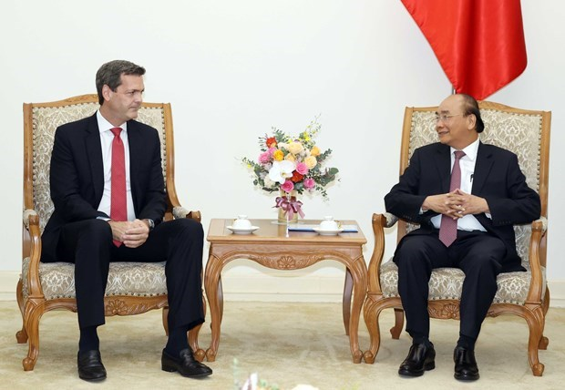 Премьер-министр приветствует нового странового директора АБР hinh anh 1