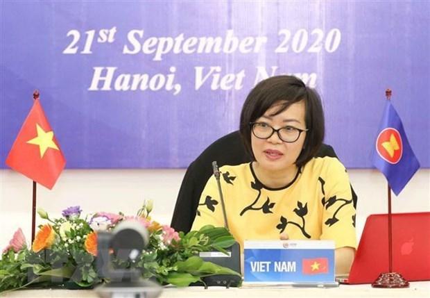 Прошел форум АСЕАН по социальному обеспечению и развитию hinh anh 1