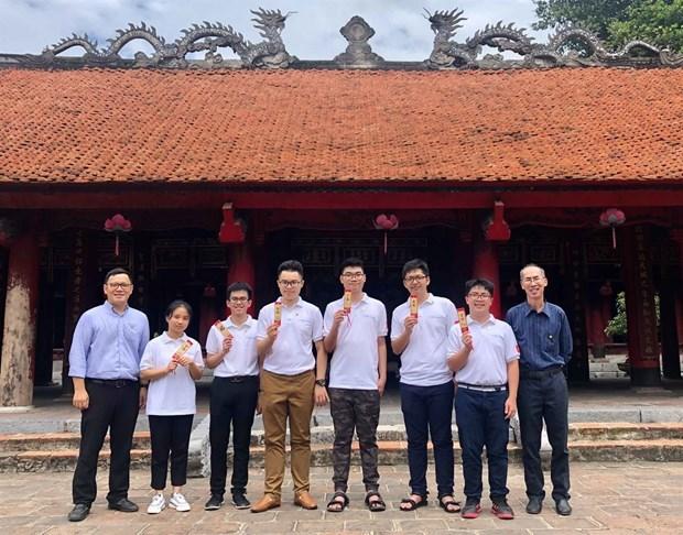 Вьетнам занял 17-е место на Международнои математическои олимпиаде 2020 hinh anh 1