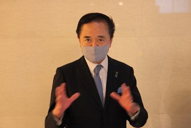 Губернатор Канагавы: Визит премьер-министра Суги во Вьетнам для налаживания двусторонних связеи hinh anh 1