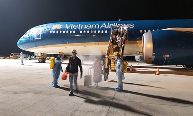 Вьетнамских граждан доставили домои из России hinh anh 1